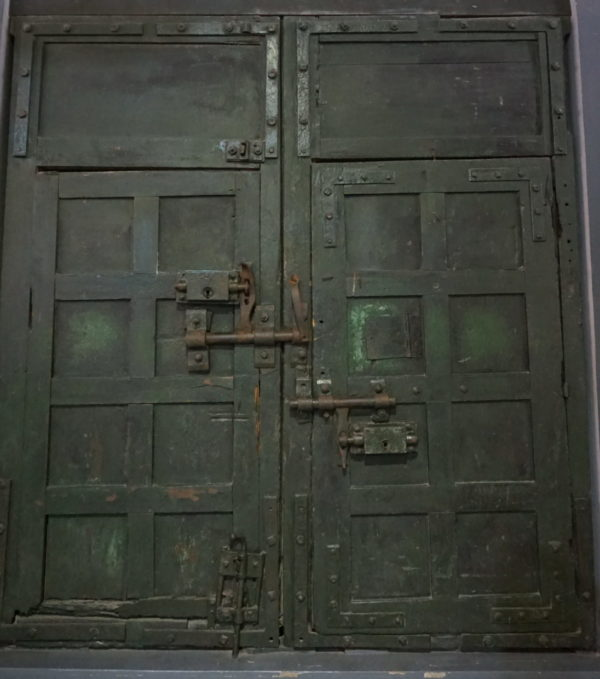 A door in Ha Noi prison